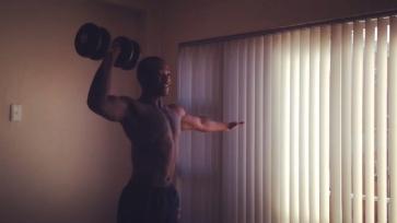 Single Arm Shoulder Press