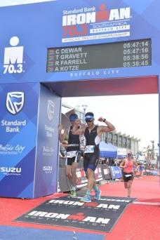 70.3 Ironman Finish