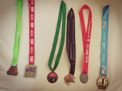 All Medals Received